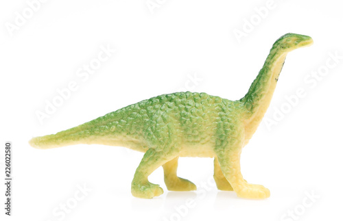 Photo  Apatosaurus made out of plastic
