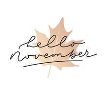 Hello November Inspirational A...