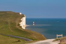 Beachy Head And The Lighthouse