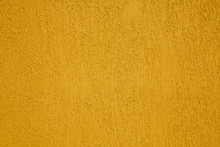 Texture Of A Yellow Plastered ...