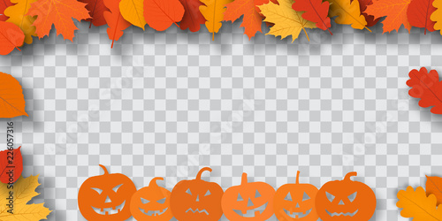 Halloween Background Canvas-taulu