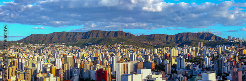 Aluminium Prints Brazil panoramic views of Belo Horizonte, capital of Minas Gerais, Brazil