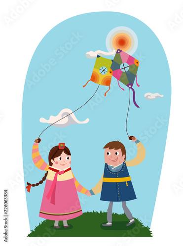 Photo Fly a kite