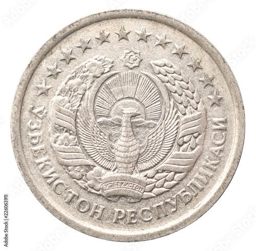 Fotografia  Coins Republic of Uzbekistan