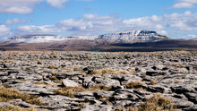 Pen-Y-Ghent, Yorkshire Dales, In Winter