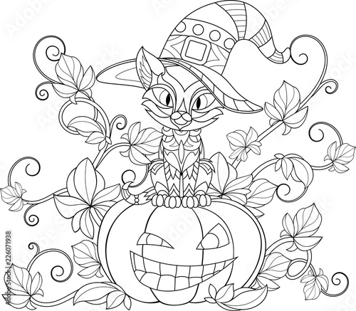 Thematic coloring for Halloween