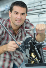 Professional Mechanic Works In...