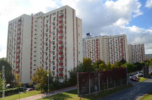 Photo Bloki mieszkalne w Katowicach/Blocks of flats in Katowice, Silesia, Poland