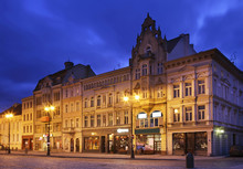 Marketplace In Bydgoszcz. Poland