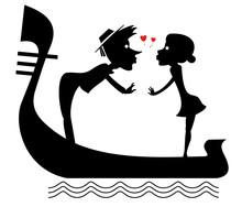 Man, Woman, Love, Heart Symbol...