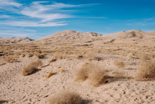 Kelso Sand Dunes On A Sunny Day In California