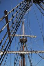 Ship Mast On Spanish Galleon