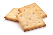 Salted Cracker Biscuit, Close-...