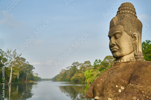 Photo Stands Place of worship Angkor Wat Temple