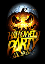 Halloween Party Poster, Invita...