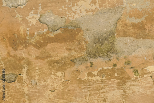 Canvas Prints Old dirty textured wall Schäden an der Wand