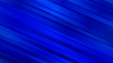 Abstract Background With Diagonal Lines In Blue Colors