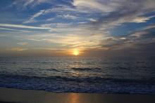 Sunset On Florida Gulf Coast