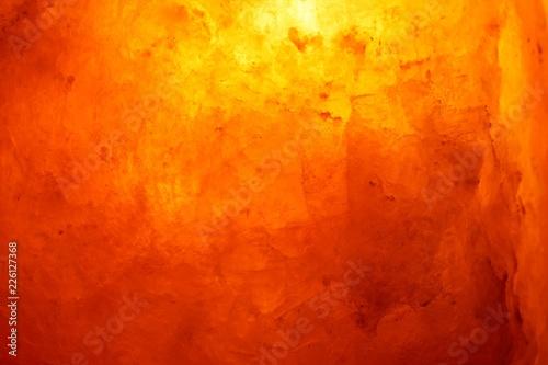 Fotografia 天然岩塩ランプの放つ癒しの光