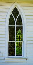 Empty Church, Old Church Windows