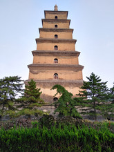 Big Wild Goose Pagoda In Xian, Shaanxi Province, China