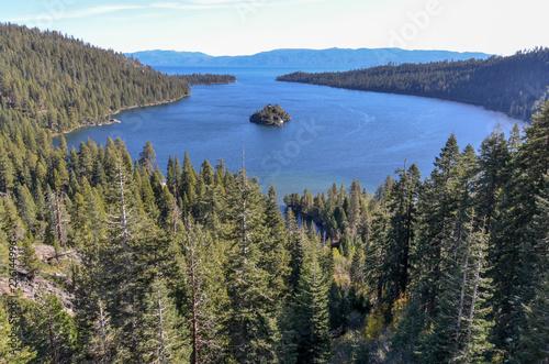 Fannette Island In Emerald Bay On Lake Tahoe El Dorado County