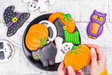 Assortment Of Gingerbread Cookies