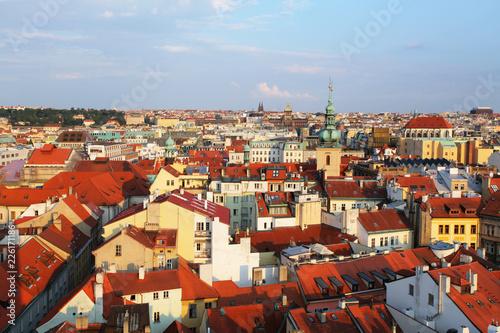 Keuken foto achterwand Centraal Europa Old town square in Prague, Czech republic