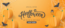 Happy Halloween Sale Banners O...