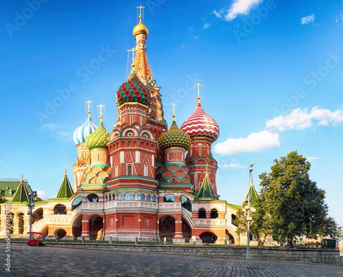 Keuken foto achterwand Aziatische Plekken Kremlin, red square in Moscow, Russia