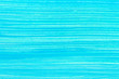 canvas print picture - Abstract cyan hand painted background