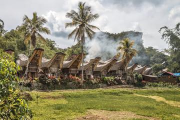 Sulawesi, Kete Kesu; Das traditionelle Toraja Dorf