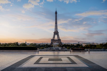Morning Colors In Eiffel Tower