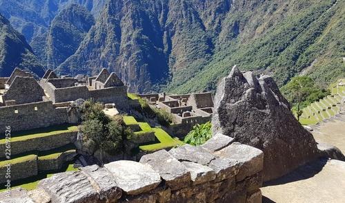 Staande foto Zuid-Amerika land Vallée du Machu picchu