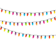 Multicolored Garland Lamp Bulb...
