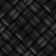 Seamless Texture With Diagonal Stripes Pattern, Weave Texture, 3d Illustration