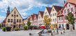 canvas print picture - Panorama Lauf an der Pegnitz Altstadt