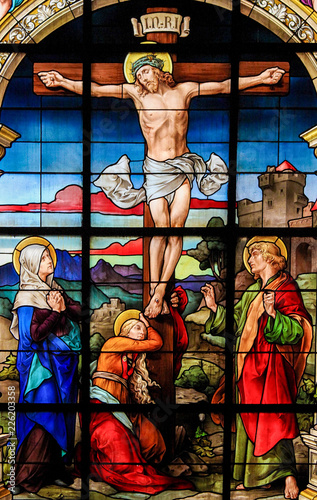 Obraz na plátně The Crucifixion, Stockholm