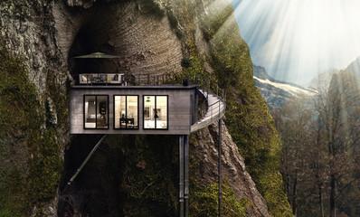 Baumhaus in den Bergen