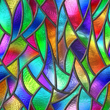 Colored Glass Seamless Texture...