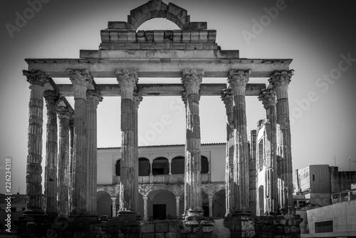 Staande foto Artistiek mon. Antiguo templo de Diana En Merida , Esapaña