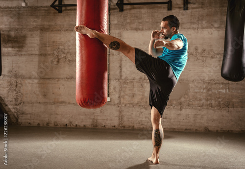 Fotografia, Obraz Boxing Workout