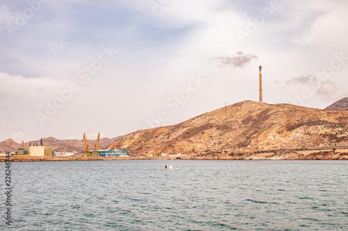 Bahía de Cartagena, Murcia, España
