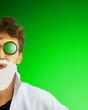 Leinwanddruck Bild - Crazy doctor