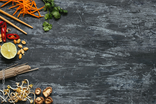 Photo  Ingredients for asian dish