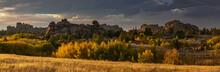 Vedauwoo In The Fall Panorama