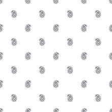 Vector Illustration Of Paisley Seamless Pattern. Tribal Simple Texture. Can Be Used For Textile Design, Surface, Print, Card, Fabric, And Wallpaper. Bohemian Style.