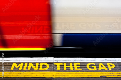 Mind the Gap, London subway