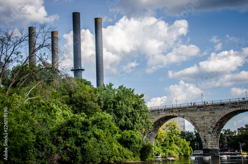 Fotografia, Obraz  View of Minneapolis from St