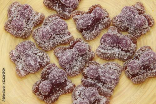 Foto op Aluminium Snoepjes Bonbons